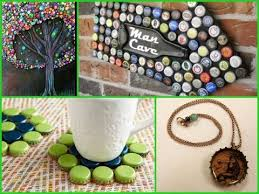 Bottle Cap Decoration Ideas