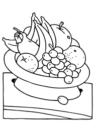 Small Picture Eat Fruit for Your Health Coloring Page NetArt