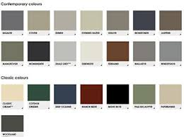 Stratco Colour Chart Complete Roofing Warehouse Complete Roofing Warehouse