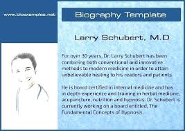 Cost Free Personal Bio Template Online From Creative Professionals ...