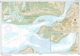 Alaska Nautical Charts 16665 Cook Inlet Approaches To Anchorage Anchorage Alaska Nautical Chart