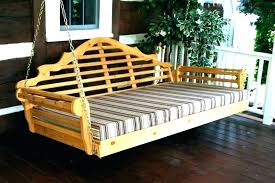 outdoor bed swing plans outdoor daybed
