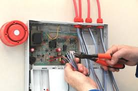 security installation. jpu0027s best electric installing alarm system security installation