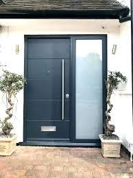 exterior door with side panels entrance modern doors front panel all sidelight exterior door with side panels