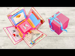 Fevicol Point Gift Chart Diy Exploding Box For Beginners Youtube