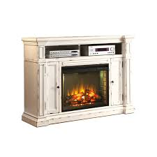legends furniture new castle 58 tv stand with electric fireplace tv stands white wayfair contemporary
