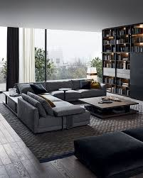 Magnificent Modern Living Room Furniture With Home Interior Remodel Ideas with Modern Living Room Furniture