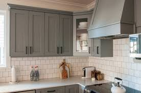 cabinet ideas show gray kitchens grey shaker kitchen cabinets design furniture painted walls blue full size