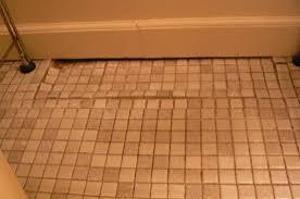 bathroom floor sinking artcomcrea