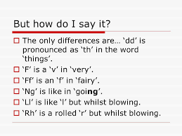 Each ipa symbol represents a sound. Welsh The Alphabet And Pronunciation Welsh Is Very Very Different In Welsh The Alphabet Goes Yes I Know Very Weird Indeed Ppt Download