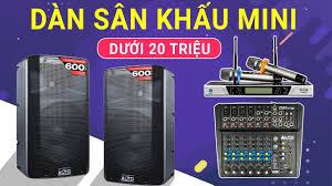 Dàn Karaoke - Âm Thanh Sân Khấu Mini Cực Hay | Nhỏ gọn nhưng rất chất lượng  - YouTube