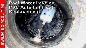 Pool Water Leveler PVC Auto Fill Float Valve Repair Installation