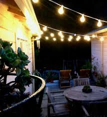 Overhead Patio Lights Commercial Grade Heavy Duty Outdoor String Lights Walmart