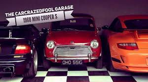 1968 Austin Mini Cooper S - The CarCrazedFool Garage - YouTube