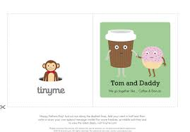 Coffee Donuts Fathers Day Card Tinyme