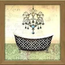 bathtub wall art glamorous vinta vintage  on vintage bath wall art with vintage bathroom wall decor sdai