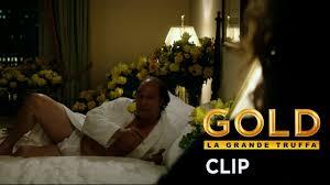 Gold La grande truffa Trailer italiano Poster Foto.