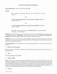 Partnership Agreements 24 Fresh Free Partnership Agreement Contract Template DOCUMENTS 15
