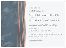 Invitations Formal Formal Lines Wedding Invitations