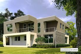 4 Bedroom Modern House Plan   ID 24509