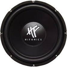 powerbass subwoofers new hifonics hfx12d4 12 800 watt 4 ohm dvc car audio subwoofer power bass sub
