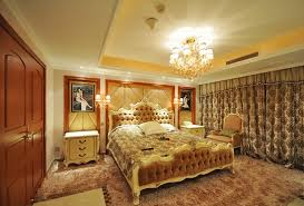 Gold Accent Vintage Bedroom Ideas