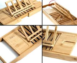wooden bathtub caddy natural bamboo bathtub tray organizer with book tablet phone wineglass holder wooden bathtub wooden bathtub caddy