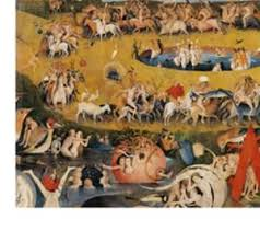 garden of earthly delights poster. Garden Of Earthly Delights,(Martyrs \u0026 Angels) By Hieronymus Bosch, C. 1503-04. Prado. Detail.Hieronymus Bosch Delights Poster E
