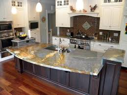 Kitchens With Granite Countertops Blue Granite Kitchen Countertops