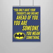 Amazoncom Batman Quote Poster 16 X 20 Motivational