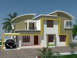 Kerala Exterior Painting Kerala Home Home Design House House - Interior decoration of houses