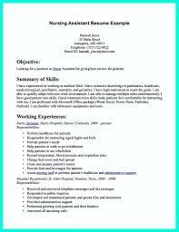 Sample Cna Resume Resume Online Builder