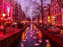 Amsterdam Red Light District Photo The Red Light District In Amsterdam Is Famous For The Red