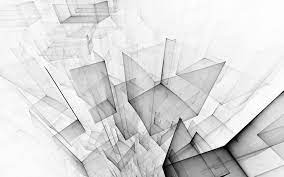 4k Wallpaper White Abstract