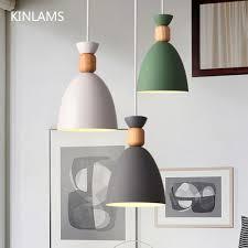 Nodic Pendant Lamp Led Hanging Lights Pendant Lighting Wood Modern
