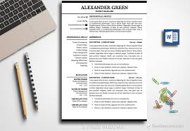 2 Page Resume Template Word Resume Template Alexander Green BestResumes 85