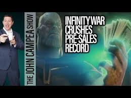 ticket sales records avengers infinity war breaks advanced tickets sales records the