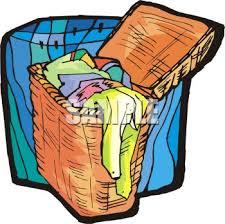 laundry basket clipart. Laundry Basket Clipart B