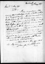 Image 1 of Cappachimico to James Edward Dinkins, May 29, 1817 ...