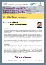 the halliday centre the case of electronic communication in southeast asian englishes
