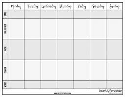 Wedding Meal Planner Weekly Meal Planner Printable Free Blank Menu Pdf Food