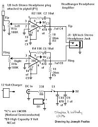 headbanger headphone amp construction kit schematic schem gif