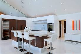 Two Toned Modern Kitchen Cabinets Crystal Cabinets