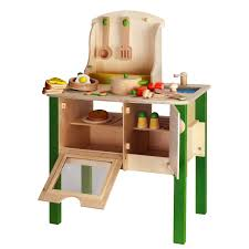 girls kitchen set deluxe wooden large culinary kitchen 3 view larger
