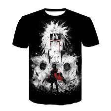 Naruto t shirts für männer Anime Kleidung Stadt Charakter Tshirt Japan Stil  Raum Drucken T shirt Lustige T Shirts Kühlen Herren Kleidung|T-Shirts