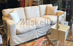 Home Furnishings Synergy Home Furnishings 1205 Slipcover Sofa Miskelly Furniture