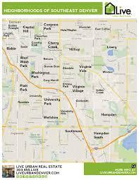 denver neighborhood map l find your way around denver l