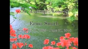Erma Smith | Wonderly Horvath Hanes Funeral Home & Crematory