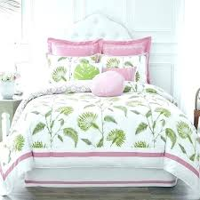 palm tree duvet cover queen answer home court quilt set