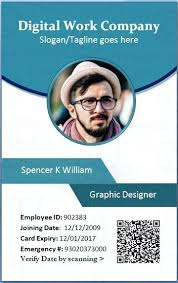 Photo Id Template Free Download Employee Identification Card Template Id Badges Free Excel